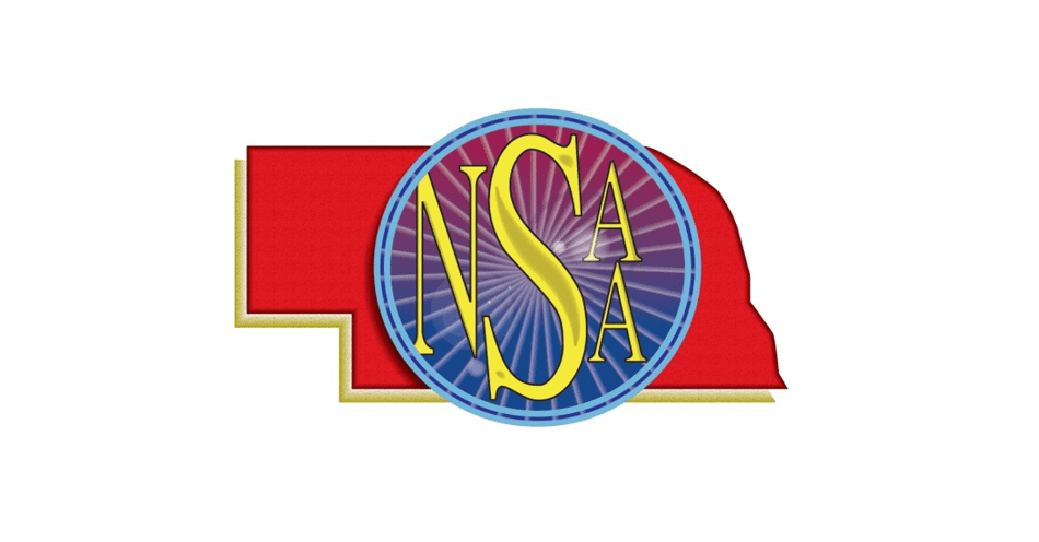 Nebrasak Sports Athletic Association logo.